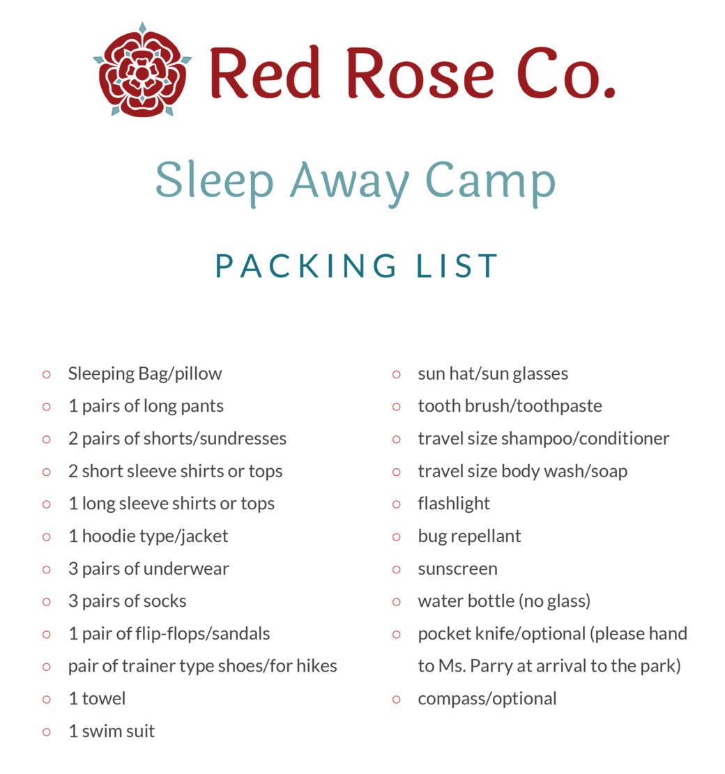 rrc-camppackinglist